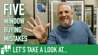 Five Window Buying Mistakes