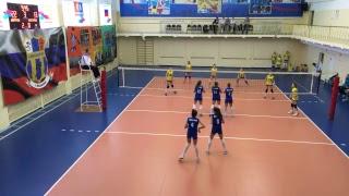 Детский волейбол. Девочки. Игра. Волейбол. Дмитров - Белгород