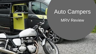 The Camper Van that carries a MOTORCYCLE! Auto-Campers MRV Review [CC]
