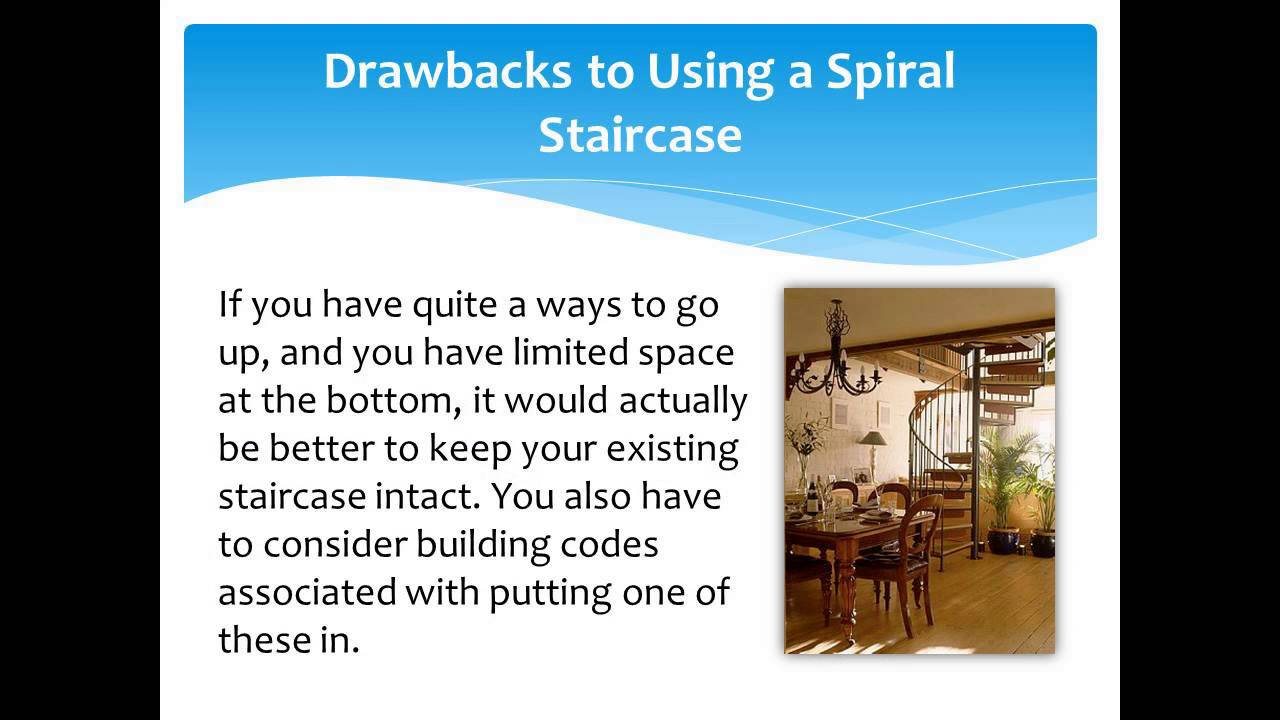 Save Space With A Spiral Staircase