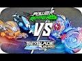 Beyblade Burst Vs Power Rippers!! || EPIC BATTLE!