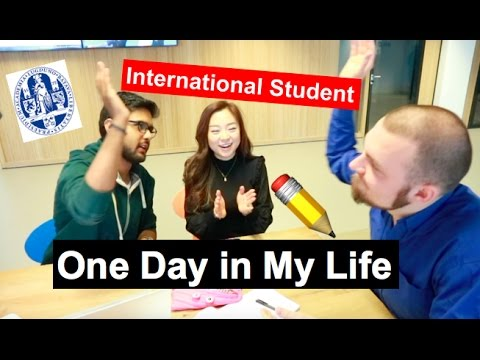 One Day in My Life | International Student in Leiden University