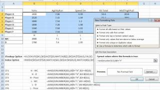 EAF# 28 - Dashboard Conditional Formatting with Excel Formula