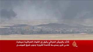 القوات العراقية تسيطر على قرى بمحيط القيارة