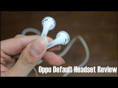 Oppo Default Headset Review Youtube