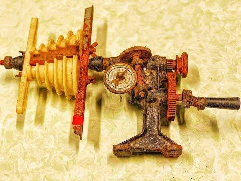 Restoration Motor Winding Machine Old | Restoration Antique  Machine | Restore  Electronic Tools