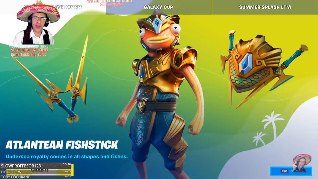 ?FORTNITE ITEM SHOP UPDATE ? Atlantean Fishstick ? LIVE - 22nd July 2020 (Fortnite Battle Royale)