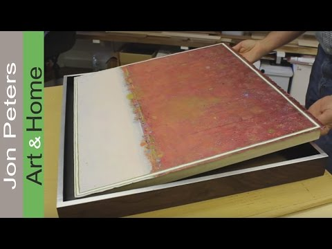 How To Mount & Frame Works on Paper, NOT Behind Glass