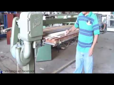 Lijadora de banda para tableros primultini maquinas para - Lijadora para madera ...