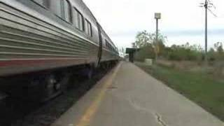 Amtrak 63 arrives and flushes toilet in station, DISGUSTING!