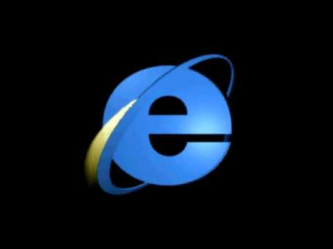 Internet Explorer 3 Classic Throbber Animation with Sound