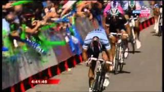 Le sprint le plus improbable de l'histoire du cyclisme