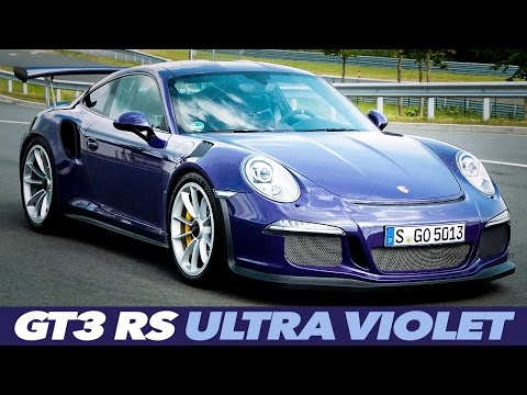 Porsche 911 GT3 RS Ultra Violet EXTERIOR INTERIOR DESIGN
