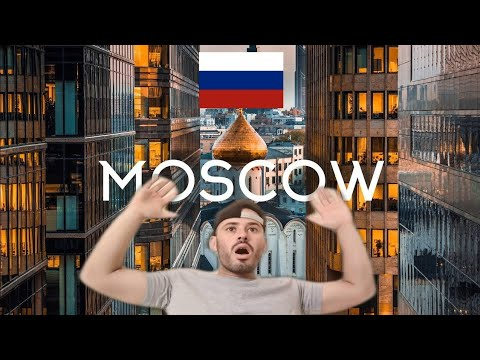REACTION TO Moscow Russia Aerial Drone 5K Timelab.pro // Москва Россия Аэросъемка