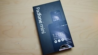 ASUS Padfone Mini unboxing and first look