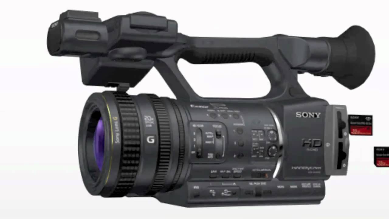 Buy sony hxr-nx5r nxcam professional camcorder with built-in led light featuring 3 x 1/2. 8