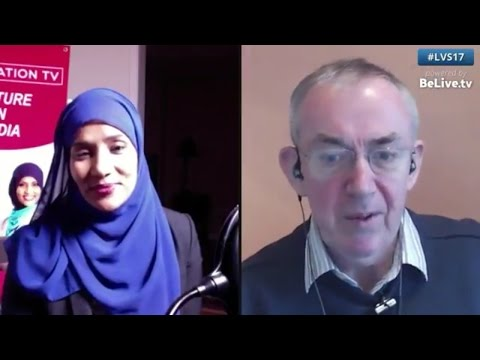 Hodan Nalayeh founder of Integration TV talks to Steven Healey on #BeLive.tv