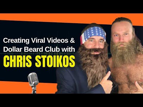 Noah St. John interviews Chris Stoikos of Dollar Beard Club - How to Make Viral Videos