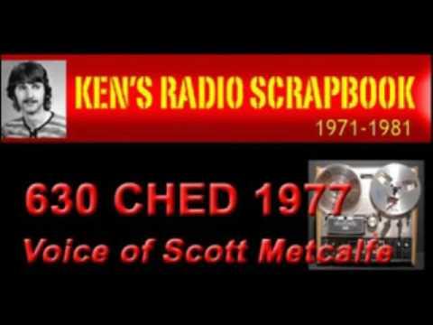 630 CHED Edmonton Alberta 1970'S - Scott Metcalfe News - RADIO ARCHIVE