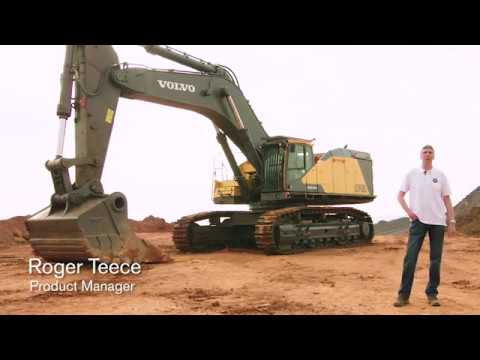 Walkaround Video Volvo Crawler Excavator EC950E