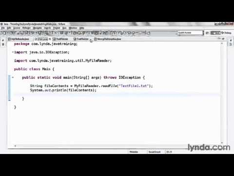 java tutorial Defining and Throwing a Custom Exception