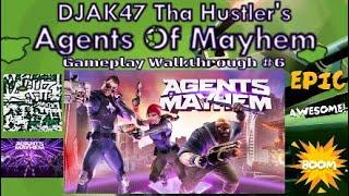 Agents Of Mayhem (PS4) | DJAK47 Tha Hustler's Gameplay Walkthrough #6 - Braddock & Yeti