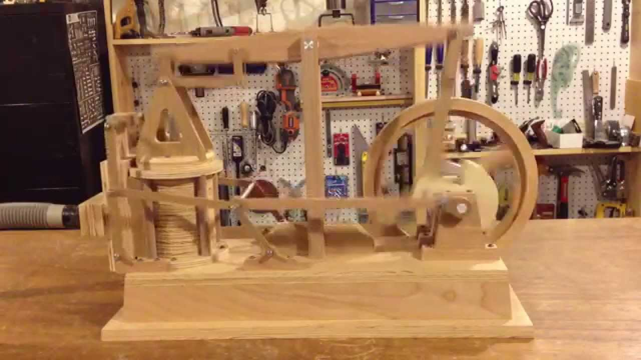 How To Build A Wooden Train Engine
