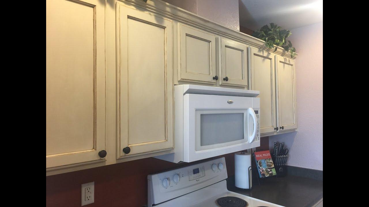 DIY Kitchen Cabinet Remodel with Annie Sloan Chalk Paint