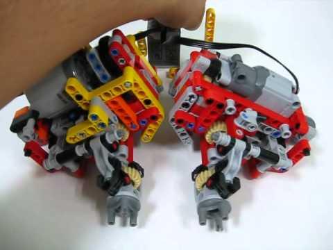Lego 9398 Mod With Xl Motorwip Youtube