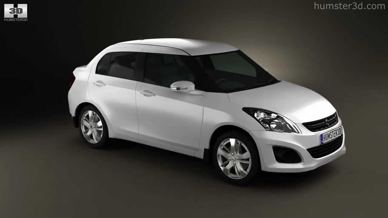 Suzuki Maruti Swift Dzire Sedan 2012 By 3d Model Store