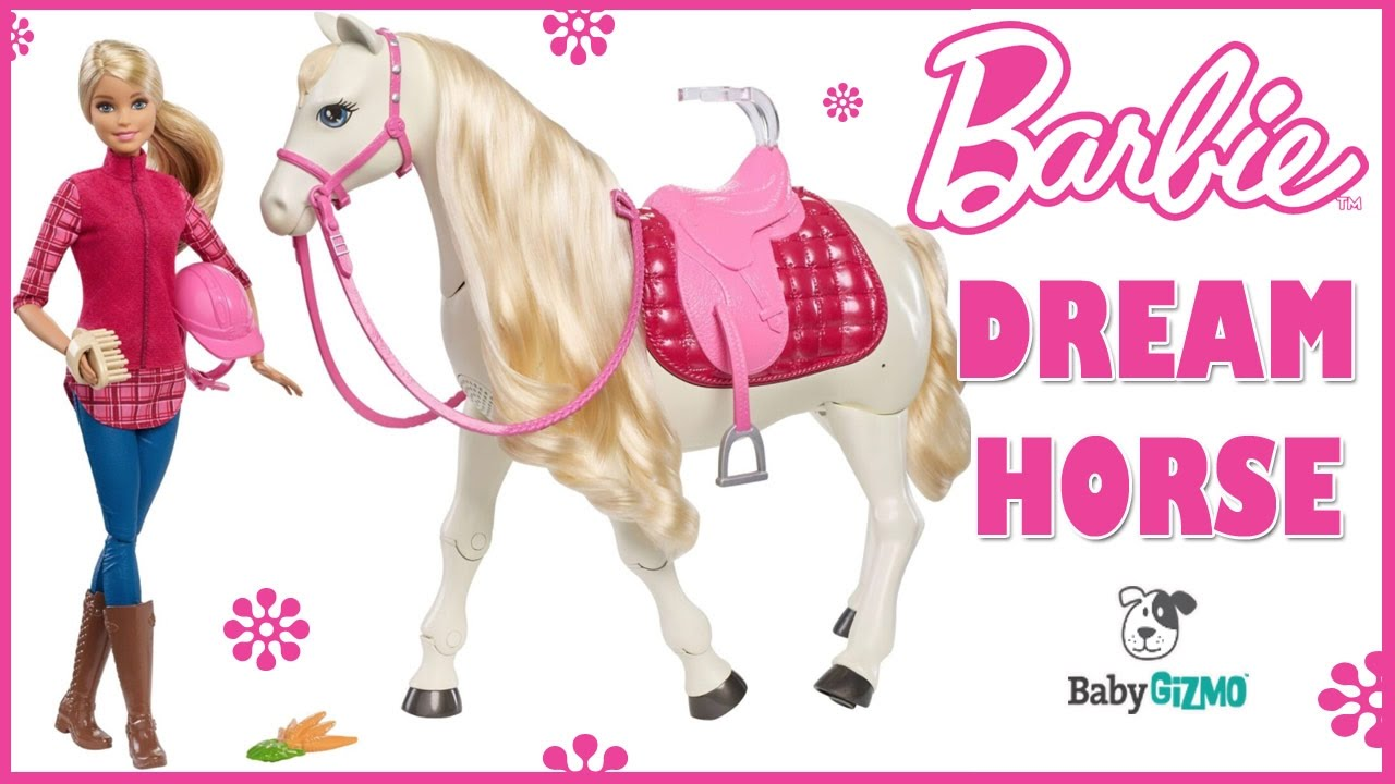 nice shoes uk store wide varieties Barbie Dream Horse Doll Toy Review | Dreamhorse