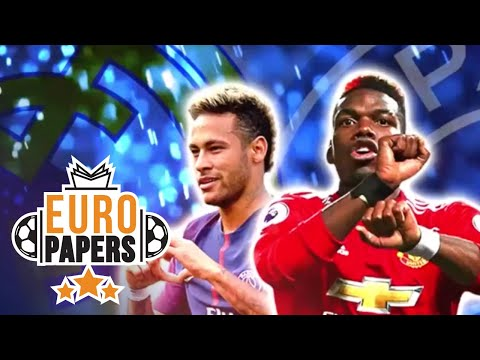Pogba Sparks Huge Transfer Rumour as He Admits Neymar Dream | Euro Papers | Eurosport