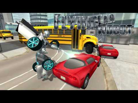 Flying Car Robot Flight Drive Simulator Game 2017 Android Apps