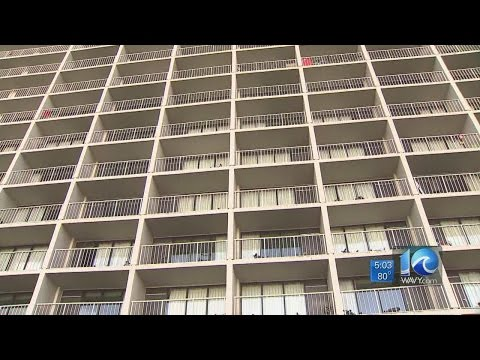 Woman falls to her death from Oceanfront hotel balcony