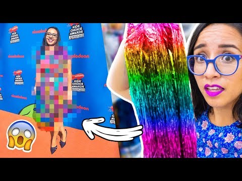 I WAS DRESSED ONLY WITH THIS TO THE KCA!   Craftingeek