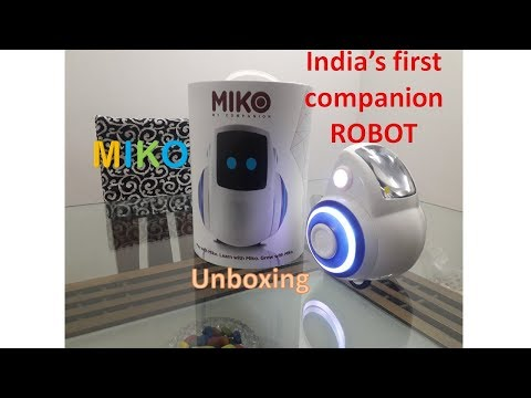 Miko, India's first companion robot: Unboxing (HINDI)