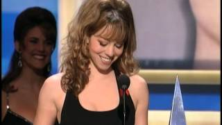 Mariah Carey wins Favorite Soul R&B Female Artist - AMA 1996