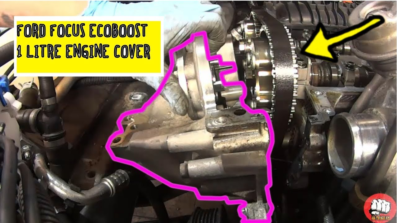 front engine cover water pump gasket replacement ford. Black Bedroom Furniture Sets. Home Design Ideas