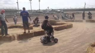 Barstool racing