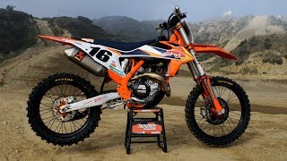 First Ride 2020 KTM 450SXF Fac…