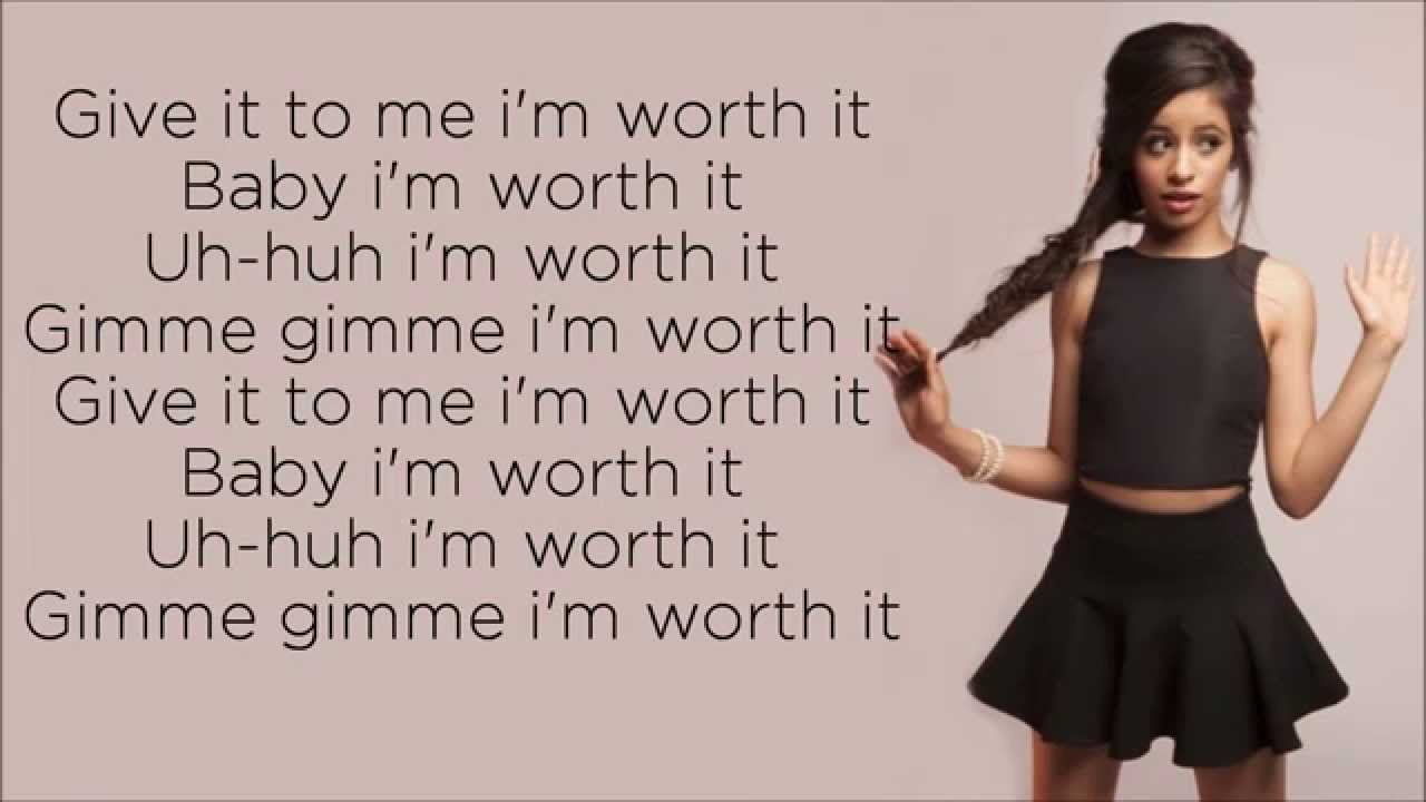 Worth it - Fifth Harmony | Текст и перевод песни | Слушать