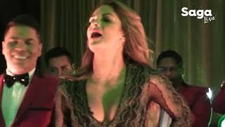La Sonora Dinamita y Mariana Seoane interpretan 'Escándalo' y 'Niña Buena' en el Maratón Saga Live