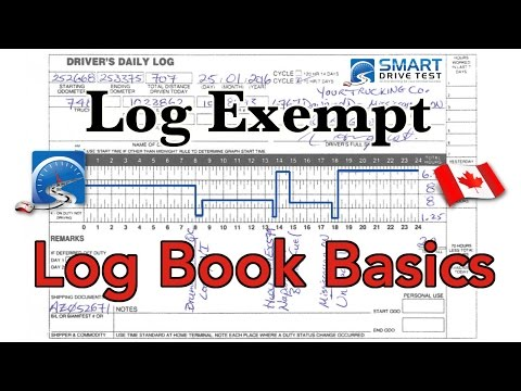Logbook Exempt | Canada