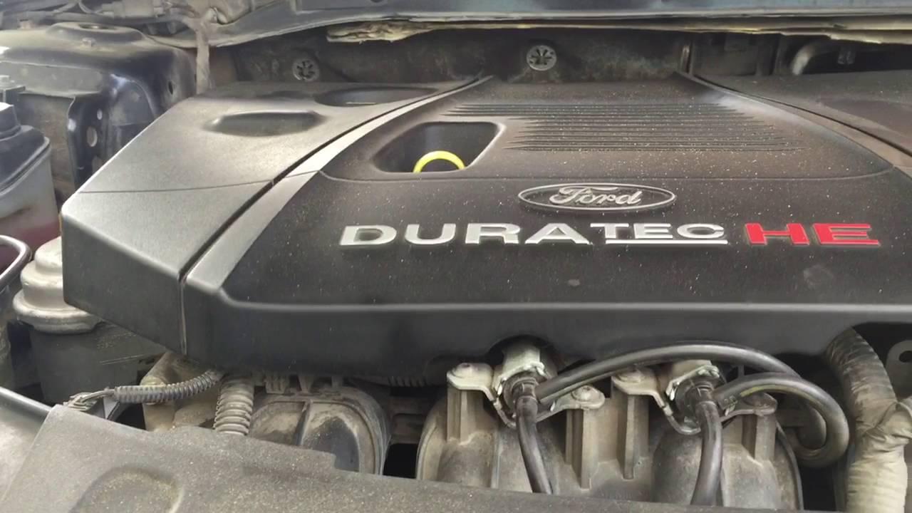 Звук двигателя 2,3 л Форд Мондео 4 - YouTube