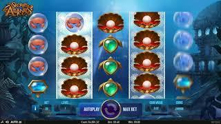 NetEnt - Secrets of Atlantis - Gameplay demo