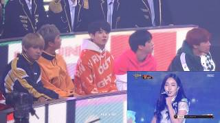 Download Video BTS Rection GFriend - Love Whisper MBC Music Festival 2017. MP3 3GP MP4