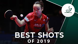 Best Table Tennis Shots of 2019