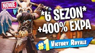 *SEZON 6* ZNAMY JUŻ DATĘ + 400% EXPA! | Fortnite (Battle Royale)