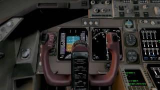 X-Plane 10 Gameplay 747-400 KSEA
