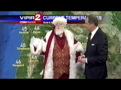 Real Santa Claus Appears On ABC NEWS - Channel 2 (Portland, Oregon)